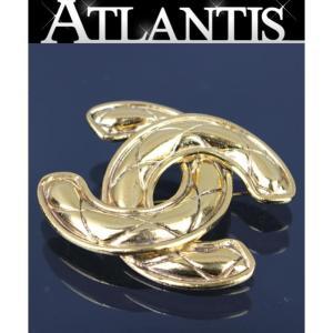 SALE シャネル CHANEL ココマーク 大 ブローチ ゴールド ヴィンテージ|atlantis