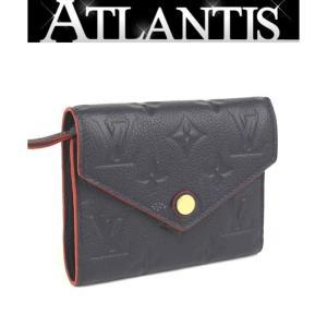 SALE 美品 ルイヴィトン LOUIS VUITTON ポルトフォイユ ヴィクトリーヌ 三つ折り 財布 アンプラント M64577|atlantis