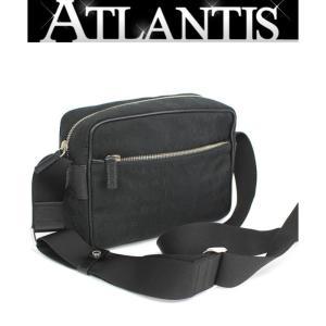 美品 ブルガリ BVLGARI 斜め掛け ショルダーバッグ ロゴマニア 黒|atlantis