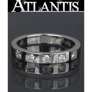 仕上済 ブルガリ BVLGARI マリーミー 5Pダイヤリング Pt950 size50|atlantis