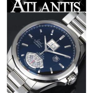 タグホイヤー TAG HEUER グランドカレラ GMT キャリバー8 メンズ 腕時計 WAV5111 atlantis