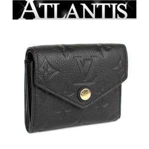 極美品 ルイヴィトン LOUIS VUITTON ポルトフォイユ ゾエ 三つ折り財布 モノグラム アンプラント M62935|atlantis