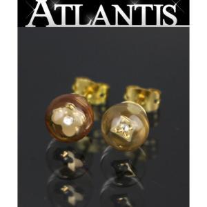 ルイヴィトン LOUIS VUITTON モノグラムフラワー キット ブークル バブル ピアス M65424|atlantis