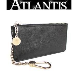 極美品 ブルガリ BVLGARI キーリング付き コインケース 財布 ブルガリブルガリ 黒|atlantis