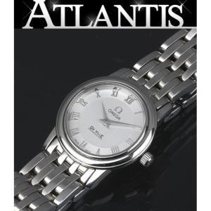 美品 オメガ OMEGA デビル プレステージ SS レディース 腕時計 クォーツ 4570.33 atlantis