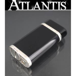 カルティエ Cartier コンポジット ガスライター 黒|atlantis