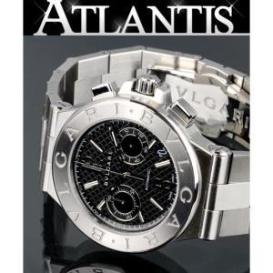 BVLGARI 銀座 ブルガリ ディアゴノ DG40SCH メンズ 腕時計 atlantis