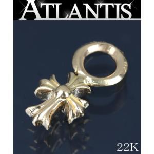 CHROME HEARTS 銀座 在庫処分大SALE クロムハーツ スタック CH クロス チャーム ネックレス トップ 22K|atlantis