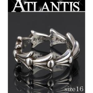 CHROME HEARTS 銀座 クロムハーツ クロステイル リング 指輪 シルバー SV925 約16号|atlantis