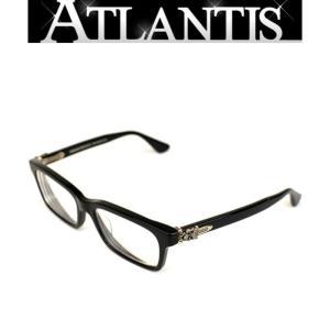 CHROME HEARTS 銀座 クロムハーツ 伊達 メガネ 眼鏡フレーム ダガー 黒 『RUMPLEFOESKIN』|atlantis