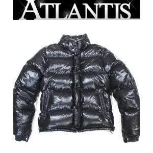 MONCLER 銀座 モンクレール エベレスト メンズ ダウンジャケット 3 黒|atlantis