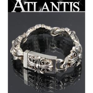 銀座店 在庫処分大SALE クロムハーツ キーパーリンク ブレス 4リンク ブレスレット シルバー 925|atlantis
