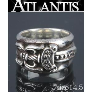 CHROME HEARTS 銀座 クロムハーツ ダガー リング SV925 約14.5号 指輪 シルバー|atlantis