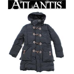 モンクレール 銀座 モンクレール  メンズ ダウン ダッフルコート size0 黒|atlantis