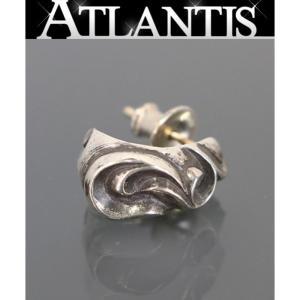 CHROME HEARTS 銀座店 クロムハーツ カーブドティアドロップピアス シルバー SV925|atlantis