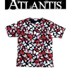 THOM BROWNE  銀座店 大SALE!!トム ブラウン バタフライ Tシャツ 蝶柄 size2 ブルー/レッド/ホワイト|atlantis