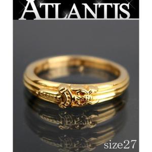 銀座店 大SALE クロムハーツ 22K ベイビー クラシック ダガー リング 指輪 約27号 ゴールド|atlantis