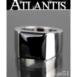銀座店 大SALE カルティエ Cartier タンクマックス リング K18WG size51 11号|atlantis