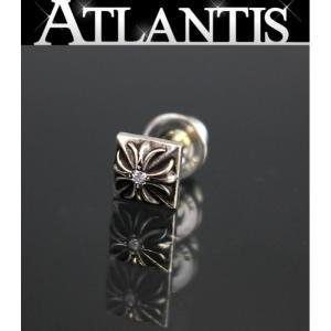 銀座店 大SALE クロムハーツ ピラミッド ダイヤ ピアス シルバー 925|atlantis