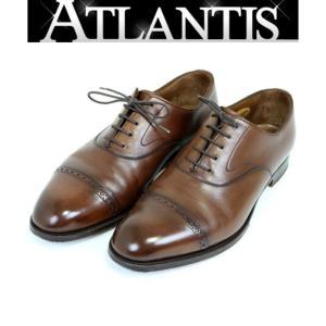 銀座店 SALE エドワードグリーン BERKELEY Last E202 バークレー レースアップ ビジネス シューズ メンズ 革靴 レザーシューズ ブラウン size8 1/2|atlantis