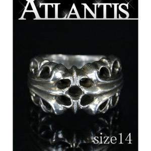 銀座店 SALE クロムハーツ K&T リング 指輪 シルバー エンゲージリング SV925 約14号|atlantis