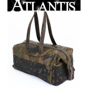CHROME HEARTS 銀座店 クロムハーツ ウィークエンダー ダッフル ボストン バッグ レザー タンクカモ クロスパッチ 旅行用 バッグ|atlantis