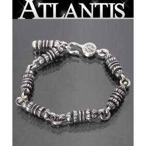 CHROME HEARTS 銀座店 クロムハーツ バレルリンク ブレス シルバー ブレスレット SV925|atlantis