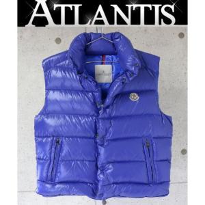 MONCLER 銀座店 モンクレール チブ メンズ ダウン ベスト ブルー size2|atlantis