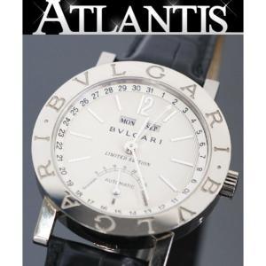 BVLGARI 銀座店 ブルガリ ブルガリ トリプルカレンダー レトログラード リミテッドエディショ BBW38GLAC 腕時計 K18WG|atlantis