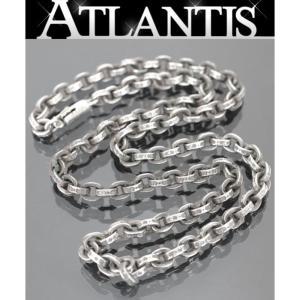 CHROME HEARTS 銀座店 クロムハーツ ペーパーチェーン ネックレス 18インチ シルバー SV925|atlantis