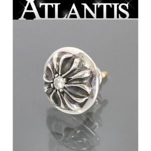 CHROME HEARTS 銀座店 クロムハーツ クロスボール スタッド ダイヤ ピアス シルバー SV925|atlantis
