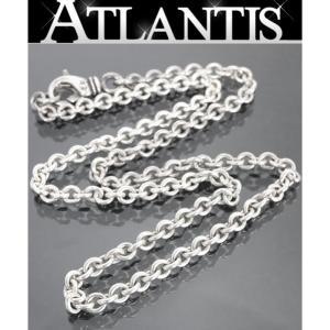 CHROME HEARTS 銀座店 クロムハーツ  NEチェーン ネックレス 18インチ シルバー SV925|atlantis