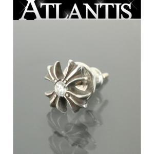 CHROME HEARTS 銀座店 クロムハーツ 1P ダイヤ CHプラス スタッド ピアス シルバー SV925|atlantis