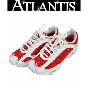 Supreme 銀座店 シュプリーム ナイキ NIKE AIR MAX TAILWIND 4 エアマックス テイルウィンドウ4 コラボ スニーカー27cm 白 × 赤|atlantis