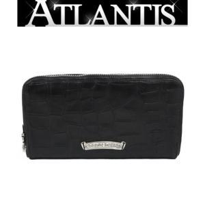 CHROME HEARTS 銀座店 新品 クロムハーツ REC F ZIP#2 クロコ アリゲーター 黒 ラウンドファスナー 長財布|atlantis