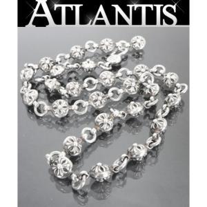 CHROME HEARTS 銀座店 クロムハーツ クロスボール ネックレス #1 SV925 シルバー 20インチ|atlantis