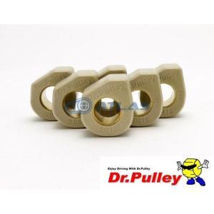 メール便対応可 Dr.Pulley(ドクタープーリー)スライディングウェイトローラー φ20×15 (10.5g) 6個セット|atlas-parts