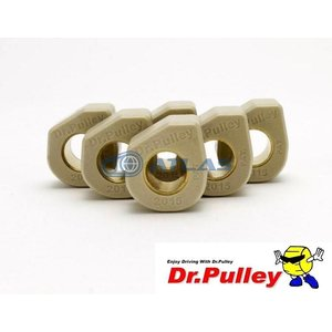 メール便対応可 Dr.Pulley(ドクタープーリー)スライディングウェイトローラー φ20×15 (11.0g) 6個セット|atlas-parts