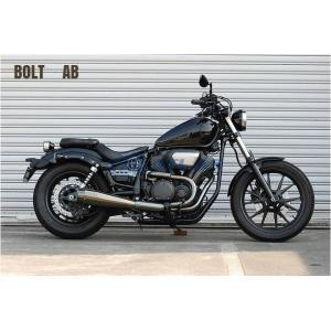 CORES コアーズ Exhaust BOLT ボルト CE01 B-Sho`t All Blacks Ver-A CE01-BO-0001-AB オールブラックス マフラー|atlas-parts