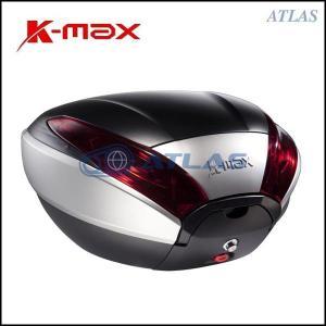 K-MAX K20 汎用リアボックス 40リットル シルバー/ブラック プッシュオープンゲート atlas-parts