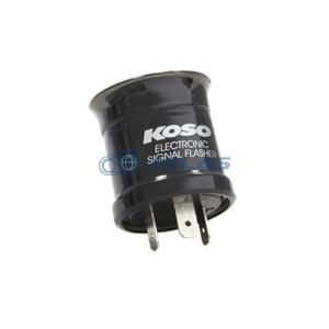 KOSO 汎用LED ウィンカーリレーII(フラッシャーリレー) 3芯、2芯 併用タイプ DA DA版(打音タイプ) シグナスX等に|atlas-parts