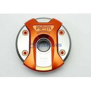RPM フューエルリッドキャップ オレンジ BW'S、BW'SX用|atlas-parts