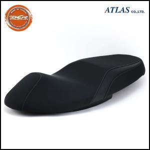DCR MAJESTY S(マジェスティS)ブラック カーボンライン カスタムシート|atlas-parts