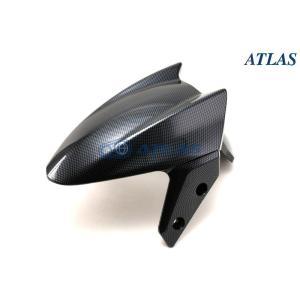 E-GIN ブラックカーボン フロントフェンダー【4TH CYGNUS X】【シグナスX】|atlas-parts