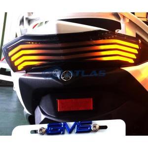 GAMMAS R3 フロウラインLED フラッシャー テールランプキット【3RD CYGNUS X】【シグナスX】|atlas-parts