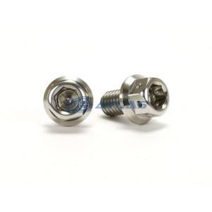 メール便対応可 JSM ☆Star Bolt CNC加工 ヘキサゴンヘッド SUS ステンレス ボルト M6×10mm P1.0mm|atlas-parts