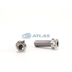 メール便対応可 JSM ☆Star Bolt CNC加工 ヘキサゴンヘッド SUS ステンレス ボルト M10×30mm P1.25mm|atlas-parts