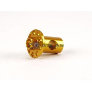 メール便対応可 JSM CNC アルミビレット リアブレーキアーム サイドピン ゴールド|atlas-parts