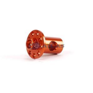 メール便対応可 JSM CNC アルミビレット リアブレーキアーム サイドピン オレンジ|atlas-parts