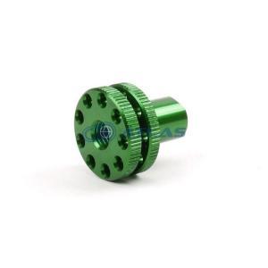 メール便対応可 JSM CNC アルミビレット リアブレーキアジャストスクリュー グリーン|atlas-parts